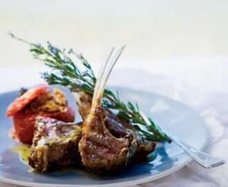 GRILLED LAMB CHOPS WITH LADOLEMOMO