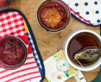 Dessert for Two: A Late Summer Cobbler