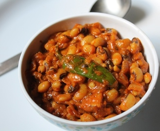 Punjabi Lobia Masala Recipe / Black Eyed Peas Masala Curry Recipe
