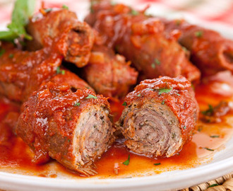 Stuffed Pork Braciole