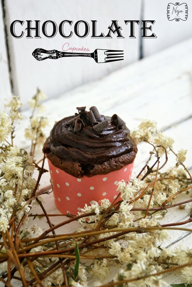Chocolate cupcakes / Čokoladne mini tortice + GIVEAWAY (Slovenia only)