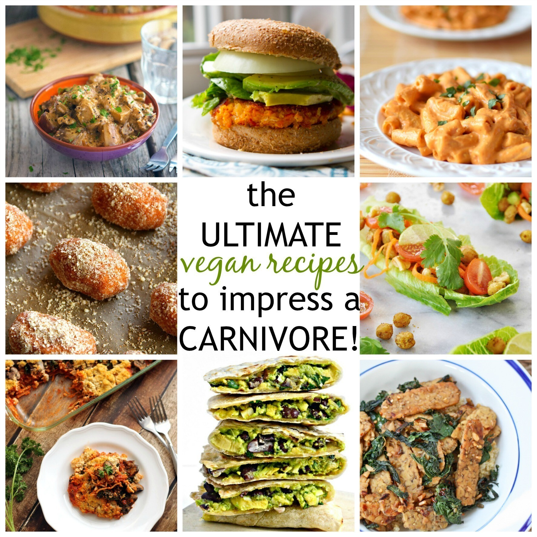 Vegan Recipes to Impress a Carnivore