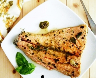 Filetto di salmone alle erbe