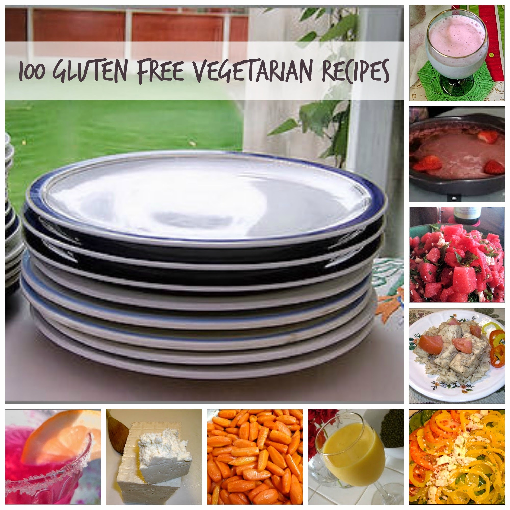 100 Gluten Free Vegetarian Recipes