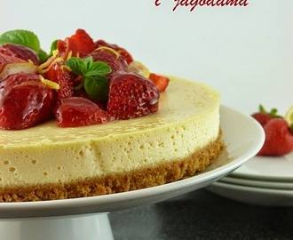 Cheesecake sa limunom i jagodama / Lemon and Strawberry Cheesecake