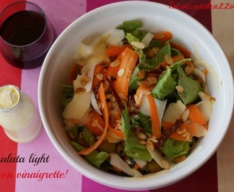 INSALATA LIGHT CON VINAIGRETTE PARADISIACA!!!!