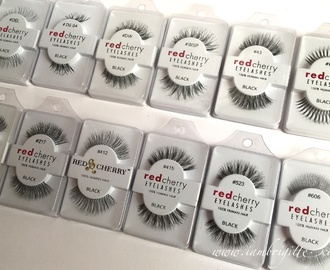 My Favourite False Eyelashes ATM: Red Cherry Lashes