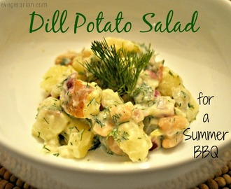 Dill Potato Salad: A Summertime BBQ Classic