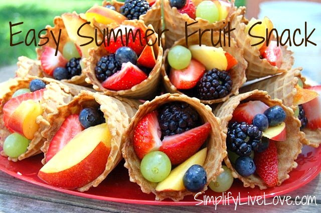 Easy Summer Fruit Snack