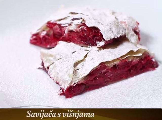Video recept: Savijača od višanja