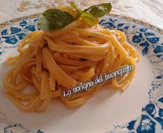 Linguine al pesto siciliano