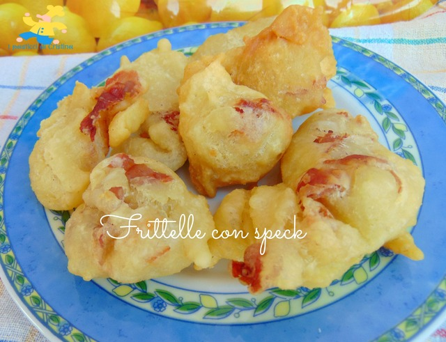 Frittelle con speck
