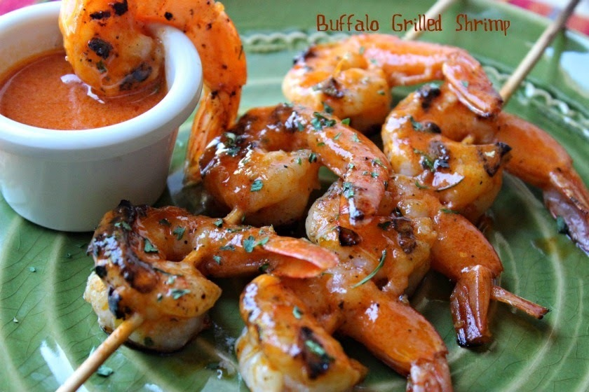 Buffalo Grilled Shrimp