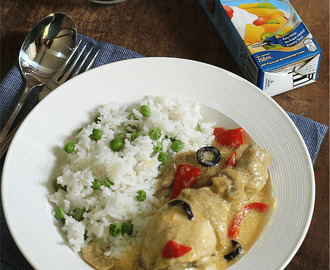 Chicken Ala King with Nestlé All Purpose Cream is #OUFT!