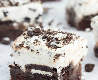 Brownie Oreo Ice Cream Bars