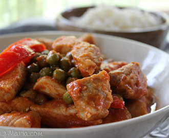 Pork with Green Peas