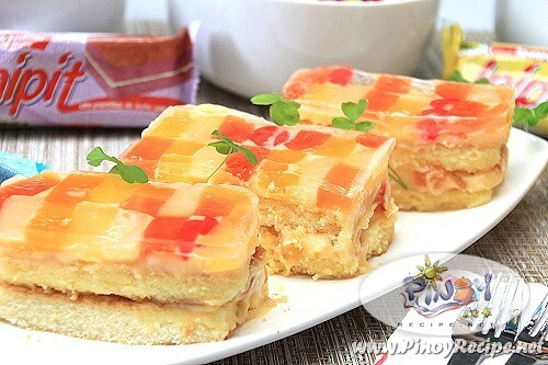 Lemon Square Inipit Crema de Fruta Recipe