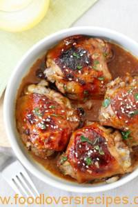 BAKED HONEY SOY CHICKEN