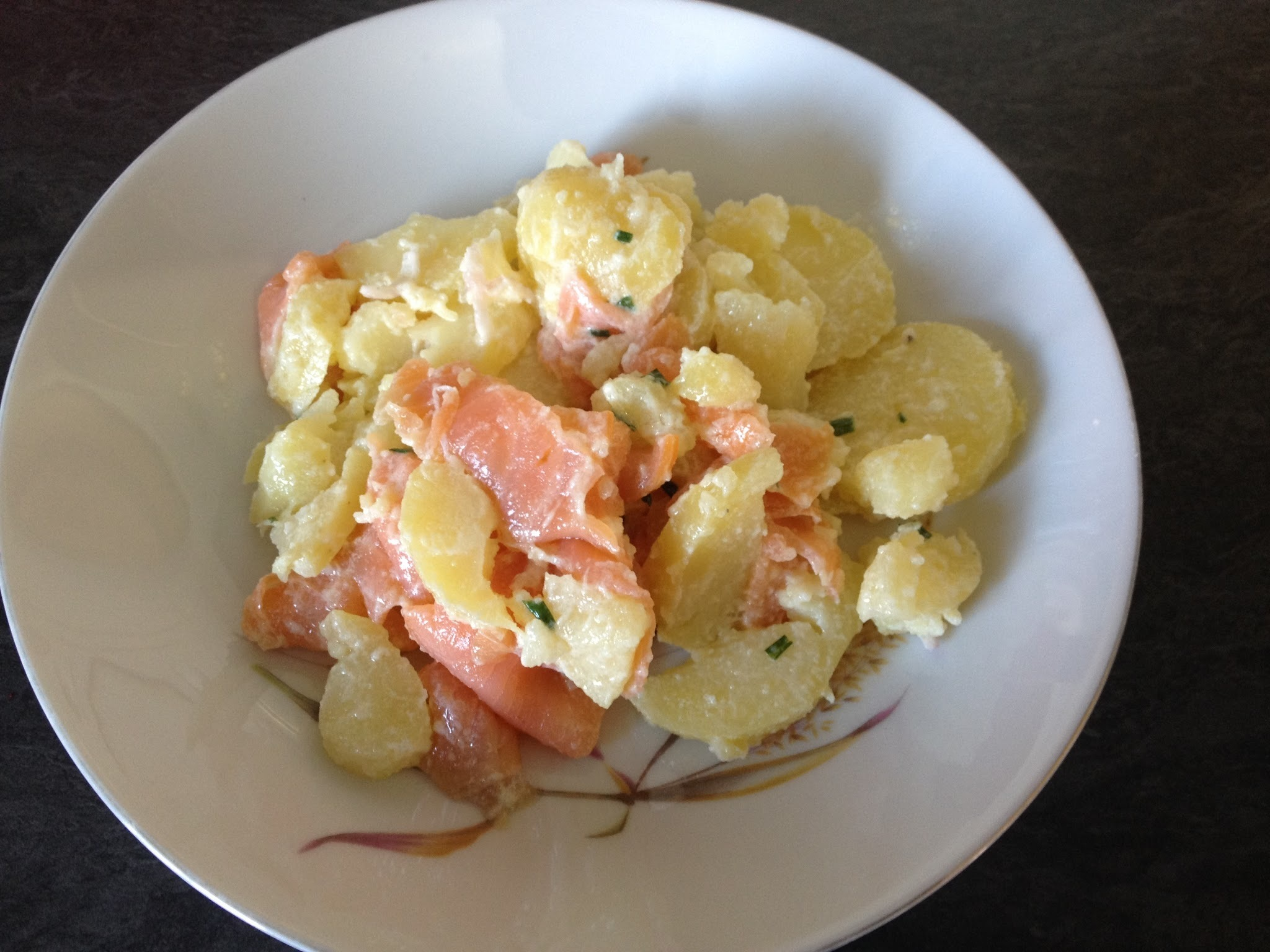 Potato and Smoked Salmon Salad