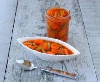 Sweet and Sour Carrot Salad