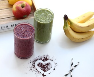 Superfood Smoothies mal zwei