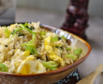 China -- Vegetarian Shanghai Fried Rice