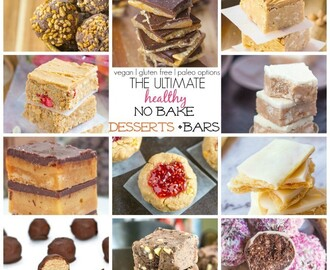 The Ultimate Healthy No Bake Snacks