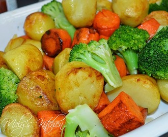 Quick Buttered Veggies