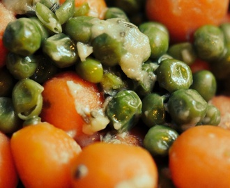 Peas and Carrots with Tarragon and Fennel