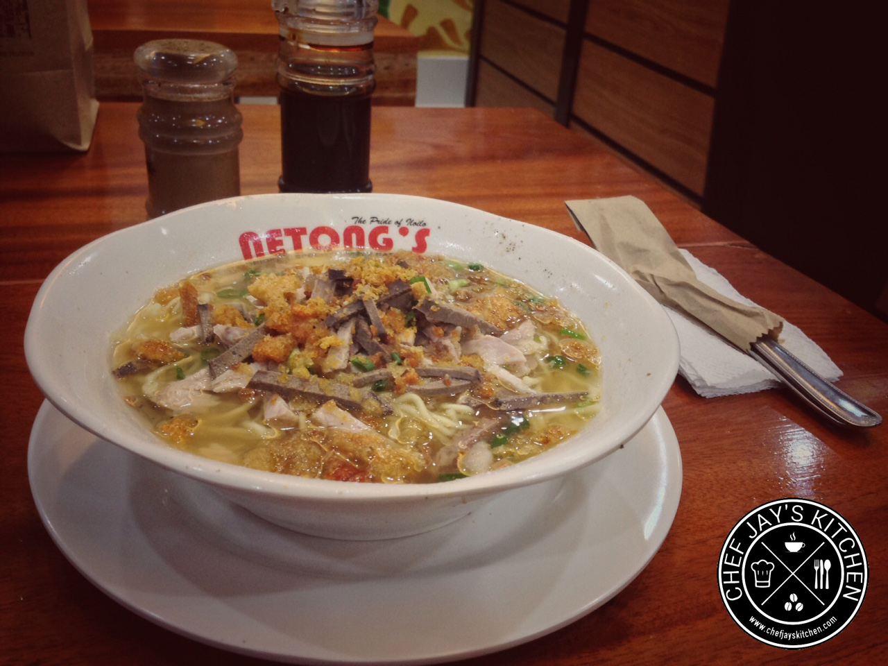 Netong's Is Now Serving Their Original Special Lapaz Batchoy at the Atria Park District