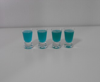 Shot blue nut