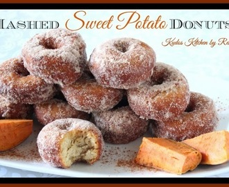 Mashed Sweet Potato Donuts and a NuWave Induction Cooktop Giveaway