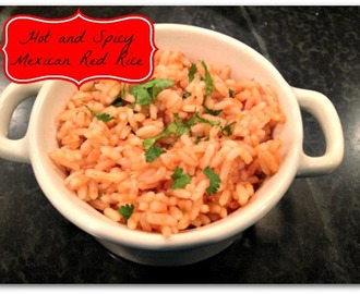 Meatless Monday: Hot and Spicy Mexican Red Rice