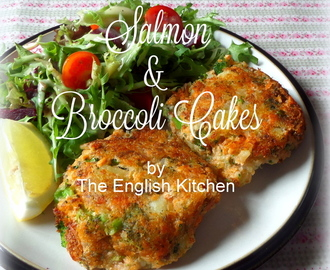 Salmon and Broccoli Fish Cakes