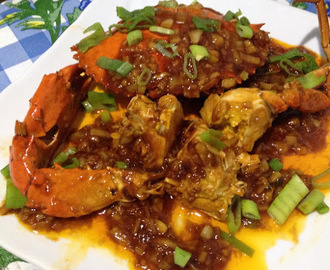 Crab with Ginger and Garlic in Chili Sauce