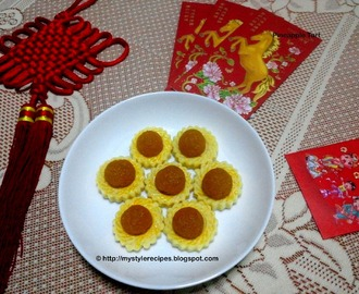 Open Face Pineapple Tart | CNY Cookies | Melt in mouth Pineapple Tart