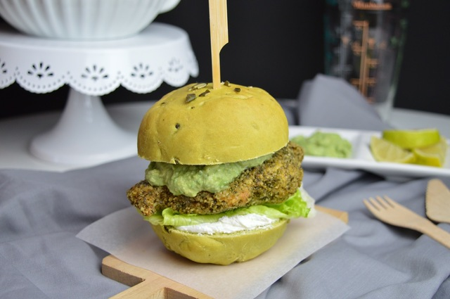 Kürbiskern Burger Bun Rezept / Burger Buns with Pumpkin Seeds #bunday