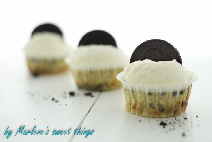 Mini Oreo-Cheesecakes