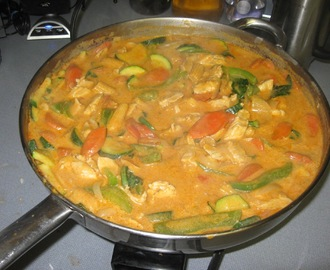Amazing Vegetable Panang Curry