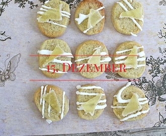 15. Ingwer : Plätzchen & Tee mit Rezept * ginger cookies & tea with recipes