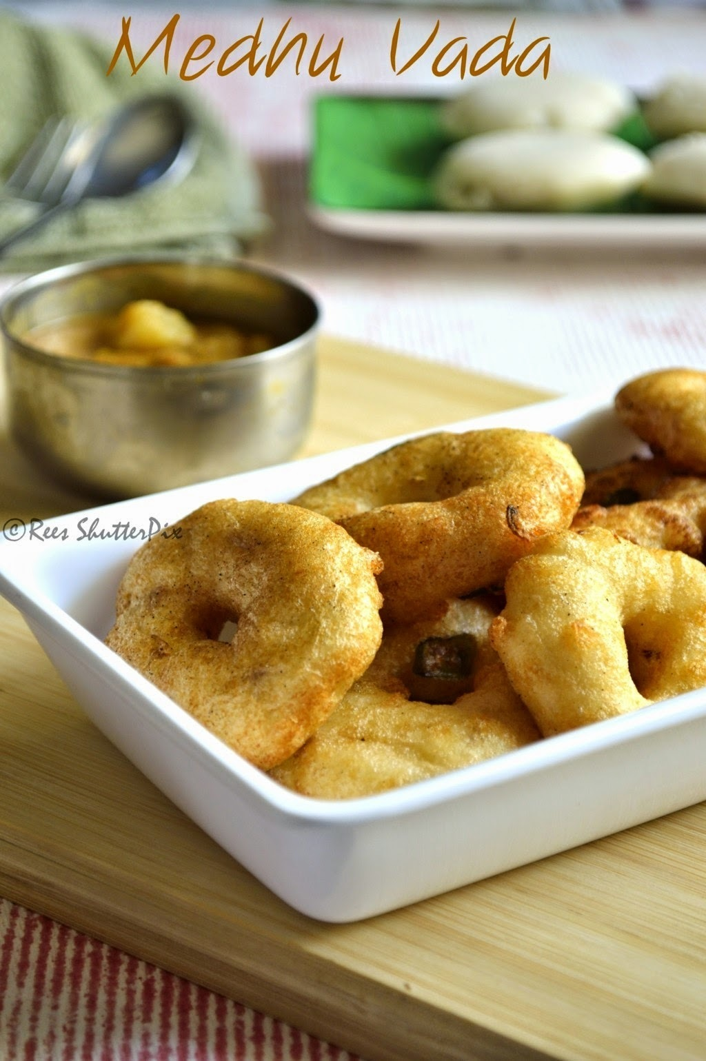 Medhu Vadai Recipe | Uludhu Vadai Recipe | Tea Time Snacks