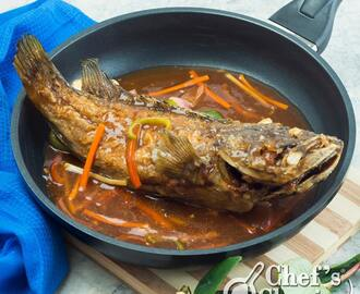 Sweet and Sour Lapu-Lapu Recipe