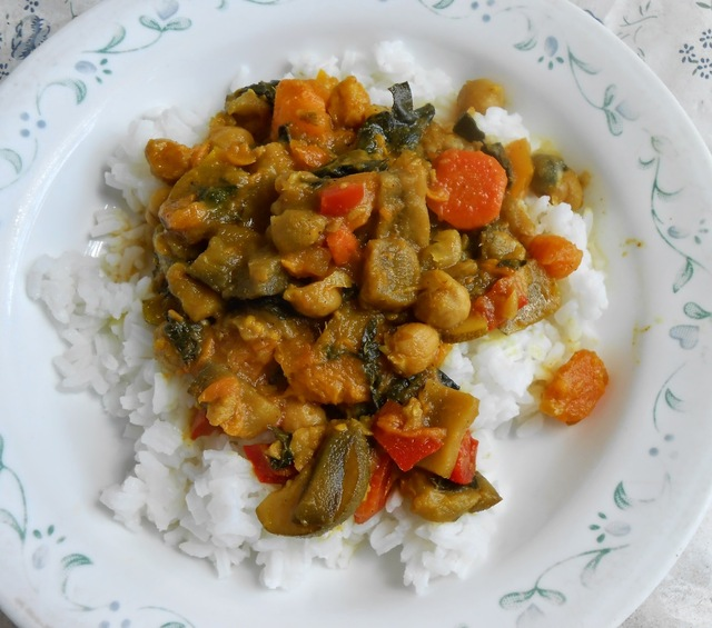 Eggplant Vegetable Curry