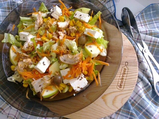 Salada de frango / Chicken salad