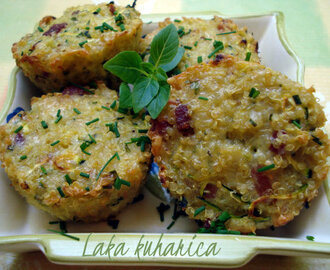 Mini frittate s kvinojom :: Mini frittatas with quinoa