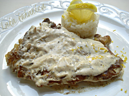 Teleći kotleti s limunom i paprom :: Lemon and pepper veal cutlets