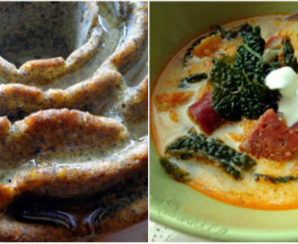 FBI: Toskanska juha i kolač s limunom i makom :: Tuscan soup - Zuppa Toscana and Lemon and poppy seed cake