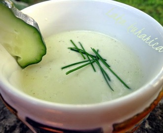 Hladna juha od avokada i krastavaca :: Chilled avocado and cucumber soup