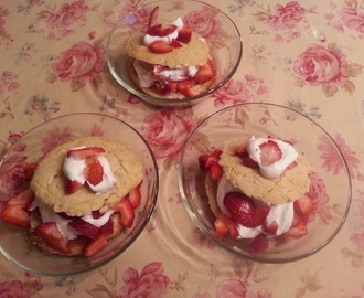 Sensational Gluten Free Strawberry Shortcake