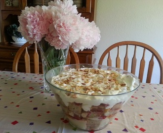 Terrific Gluten Free Strawberry & Peach Trifle